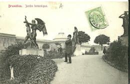 """Autres. La Statue """"Le Temps"""" De Charles Van Der Stappen Au Jardin Botanique De Bruxelles. - Sonstige"""