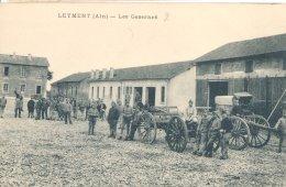 01: Leyment Soldats à La Caserne 1914:1918 - Frankrijk