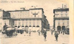 Italie : Livorno Via Vitt , Emanuele - Italië