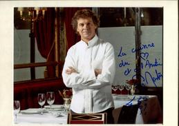 Guy MARTIN - Chef Cuisinier - Autographes