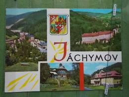 KOV 381 - JACHYMOV, BLASON - Tchéquie