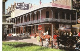 LOUISIANA---NEW ORLEANS--antoine's Restaurant 713 St.louis Street--voir 2 Scans - New Orleans