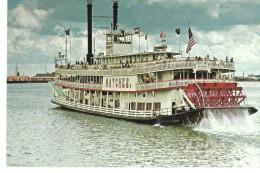 LOUISIANA---NEW ORLEANS--sternwheeler Natchez--voir 2 Scans - New Orleans