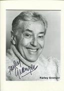 FARLEY GRANGER - Autographes