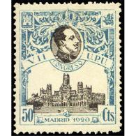 ES306STV-LFT***306S.España.Spain. Espagne.REY ALFONSO Xlll.UPU .1920.(Ed 306**)  Sin  Charnela - Nuevos