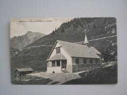 CARTOLINA MURREN - DIE KATHOLISCHE KIRCHE - BE Berne