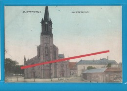 C.P.A. MARIENTHAL - La Basilikakirche - Frankrijk