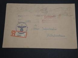 ALLEMAGNE - Env. En Recommandée Et En Franchise De Dresden En 1944 - A Voir - L 2034 - Allemagne