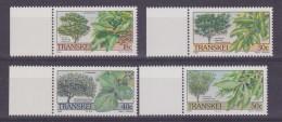 Transkei 1989 Indigenous Trees 4v (+margin) ** Mnh (32049) - Transkei