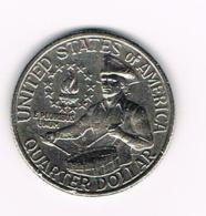 °°°  U.S.A.  WASHINGTON  1/4 DOLLAR  1776/1976   BICENTENNIAL RESERVE - Émissions Fédérales