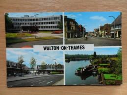 Multi View Post Card Of Walton-on-Thames, Surrey,England.,K36.. - Surrey