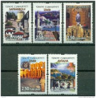 AC - TURKEY STAMP - CONTINUOUS POSTAGE STAMPS WITH THE THEME OF TOURISM MNH 20 MARCH 2015 - 1921-... Republic