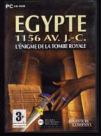PC Egypte L'énigme De La Tombe Royale - Jeux PC