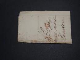 FRANCE - Lettre De Bordeaux Pour Londres En 1836 - A Voir - L 2048 - Marcophilie (Lettres)