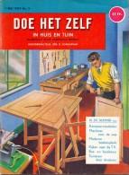 Tijdschrift Doe Het Zelf - In Huis En Tuin - 1 Mei 1959 - Pratique
