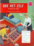 Tijdschrift Doe Het Zelf - In Huis En Tuin - 1 Oktober 1959 - Practical