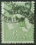 AUSTRALIA 1913 Definitive Issues - Kangaroo And Map. USADO - USED. - Used Stamps