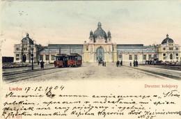 LWÓW, Dworzec Kolejowy (1904) 2 Scans - Ukraine