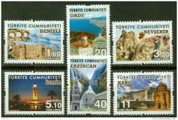 AC - TURKEY STAMP - TOURISM THEME DEFINITIVE POSTAGE STAMPS MNH 22.JULY 2016 - Nuevos