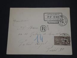 SAINT PIERRE ET MIQUELON  - Enveloppe En Recommandée PP ( 0.30 ) De 1926 Pour Paris - A Voir - L 2061 - Lettres & Documents