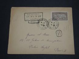 SAINT PIERRE ET MIQUELON  - Enveloppe En Recommandée PP ( 0.30 ) De 1926 Pour Paris - A Voir - L 2062 - Lettres & Documents
