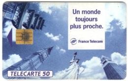 Bar 52 - Monuments Des Capitales Dont Statue De La Liberté - Phonecards