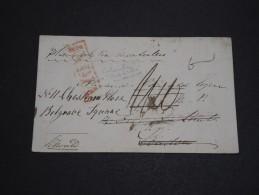 GRANDE BRETAGNE / INDE - Enveloppe De Calcutta Pour Londres - A Voir - L 2065 - ...-1852 Prephilately