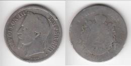 **** 2 FRANCS 1866 A PARIS - NAPOLEON III TETE LAUREE - ARGENT **** EN ACHAT IMMEDIAT !!! - France