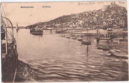Hamburg BLANKENESE Elbe Hafenpanorama Gegen Den Süllberg Barkasse Ruderboot E 21.7.1925 Gelaufen - Blankenese
