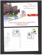 ITALY ITALIA 2011. SPECIAL POSTMARK. ITALIAN ASSOCIATION OF TECHNICAL AUDIOMETRIC - Medizin