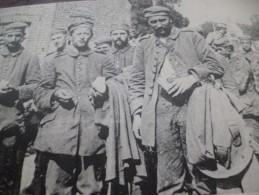 CPA 51 Marne Tahure La Grande Guerre 14/18 Prisonniers Allemands Dirigés Sur L'arrière - France