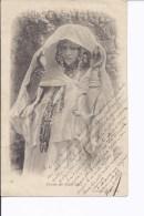 1 Cpa Femme Des Ouled-Nails. Bijoux, Voile - Vrouwen