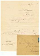 COLOMBOPHILE LACHE DE PIGEONS DEPART DE COMPIEGNE (OISE) POUR ROUSIES (NORD) 1925 - Vieux Papiers