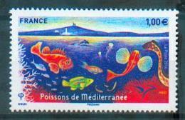 France 2016 - Emission Commune Euromed, Poissons De La Méditerranée / Euromed Joint Issue, Fish Of Mediterranean - MNH - Poissons