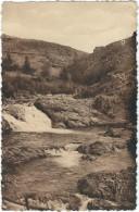 Lozere : Le Pont De Montvert : La Cascade Du Gouffre De Loule - France