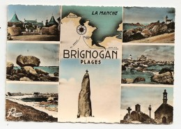 BRIGNOGAN PLAGES - Carte Multivues RÉMA Vers 1960 - N° - Brignogan-Plage