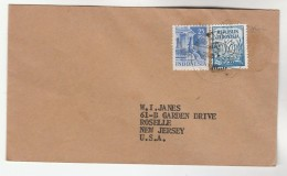 1951 INDONESIA Stamps COVER To USA - Indonesia