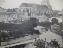 CPA 79 Deux Sèvres Celles Sur Belle Vue Générale église Et Abbaye - Celles-sur-Belle