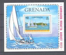 Michel #  Block 29  **   Segelboten - Grenada (1974-...)