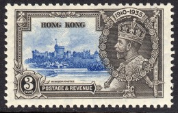 Hong Kong 1935 Silver Jubilee 3c SG133 Mint Previously Hinged - Hong Kong (...-1997)