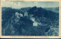 : « Environs Du Camp D'ELSENBORN - Ruines De Reinhardstein » - Ed. Marx & Niessen, Camp D'Elsenborn - Elsenborn (camp)