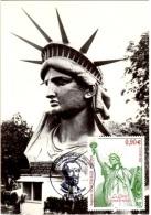 BAR 68 - FRANCE Carte Maximum La Liberté éclairant Le Monde - Scultura