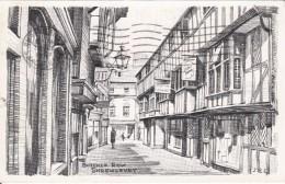 G , Cp , ANGLETERRE , SHREWSBURY , Butcher Row - Shropshire