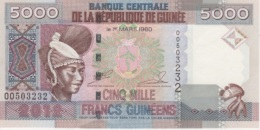 (B0560) GUINEA, 2012. 5000 Francs. P-41b. UNC - Guinea