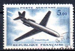 FRANCE    PA 40  Oblitere   Avions Caravelle - Flugzeuge