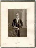 Large Photo / Boy / Garçon / Communie / Communion / Photo Gustave Buyle / Bruxelles / Anvers / Joseph Dubois / 1909 - Personnes Identifiées