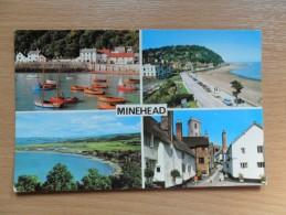 Multi View Post Card Of Minehead,England.,K36.. - Minehead