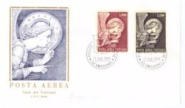 CITTà DEL VATICANO - FDC - RODIA - ANNO 1968 - POSTA AEREA VATICANO - L'ARCANGELO GABRIELE - - FDC