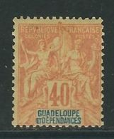GUADELOUPE N° 36 * - Guadeloupe (1884-1947)