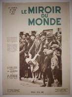 Le Miroir Du Monde N°166 06/05/1933 Rallye Aérien Algéro-Marocain - Romanichels Des Mers : Les Bajaos - Adolph Hitler - Bücher, Zeitschriften, Comics